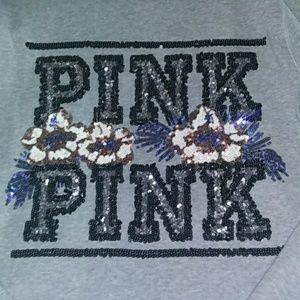 Vs PINK Tropical Bling hoodie